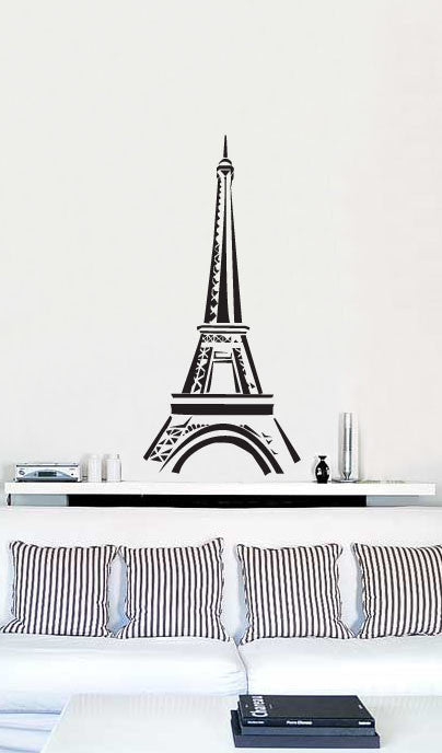Paris Decals Wall Art vinyl wall art decal sticker paris eiffel tower decor #159