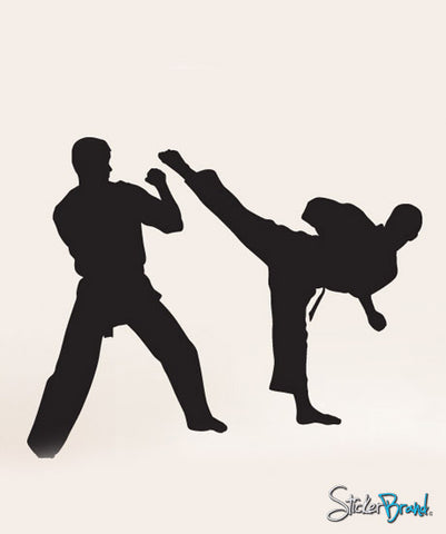 Vinyl Wall Decal Sticker Karate Martial Arts #223