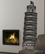 Vinyl Wall Decal Sticker Large Tower of Pisa #227