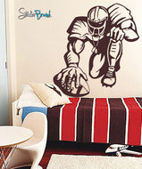 Vinyl Wall Decal Sticker Football Player Hike #229