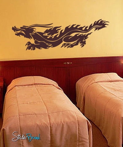 Vinyl Wall Decal Sticker Chinese Dragon #230