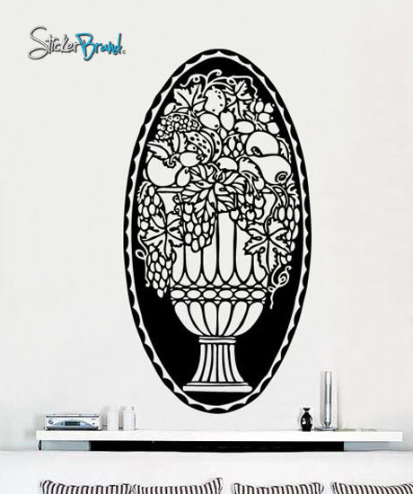Vinyl Wall Decal Sticker Flower Fruit Arrangement Decor #232