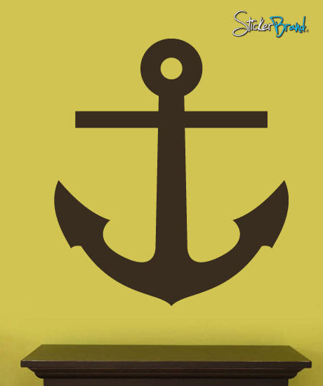Vinyl Wall Decal Sticker Ship Anchor Decoration #250
