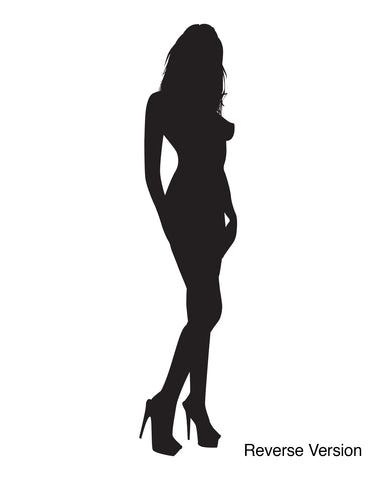 Vinyl Wall Decal Sticker Sexy Girl Model Posing #258
