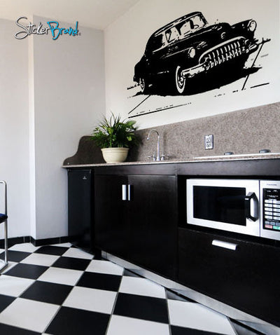 Vinyl Wall Decal Sticker Old Antique Classic Car Model #259