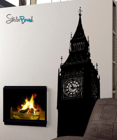 Vinyl Wall Decal Sticker London Big Ben Clock #260