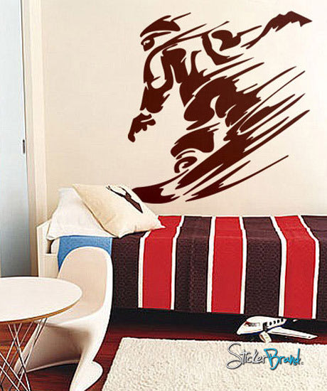 Vinyl Wall Decal Sticker Snowboard Extreme Sports #265