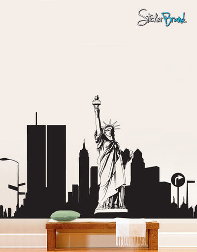 Vinyl Wall Decal Sticker New York City Statue Liberty #283 Part 81