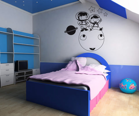 Vinyl Wall Decal Sticker On Top of the Moon #OS_DC277
