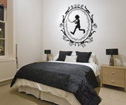 Vinyl Wall Decal Sticker Framed Pied Piper #OS_DC345