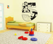Vinyl Wall Decal Sticker Robin Hood Number Five #OS_DC246