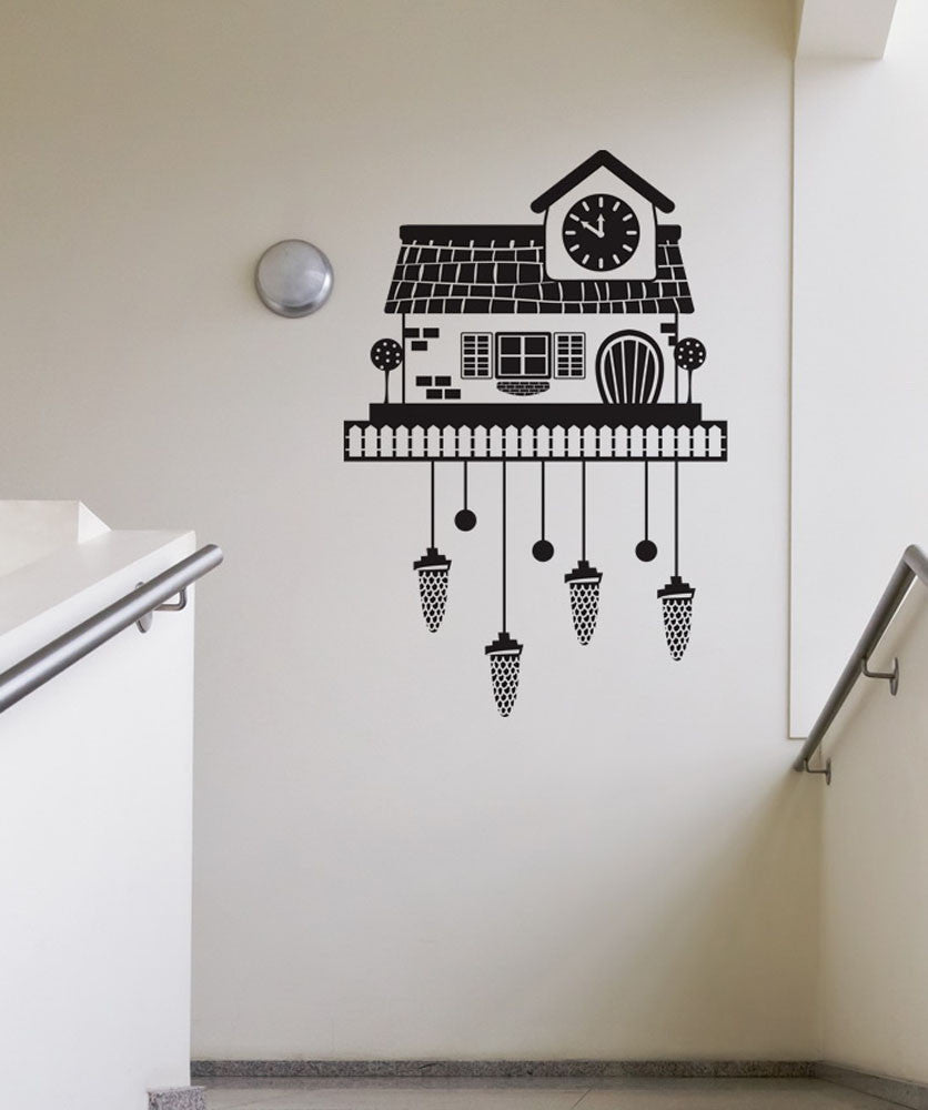Vinyl Wall Decal Sticker Cuckoo Clock 2 #OS_DC188
