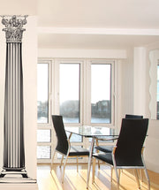 Greek Columns Wall Decal. (Pair) #JH222