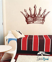 Vinyl Wall Decal Sticker King's Crown #302