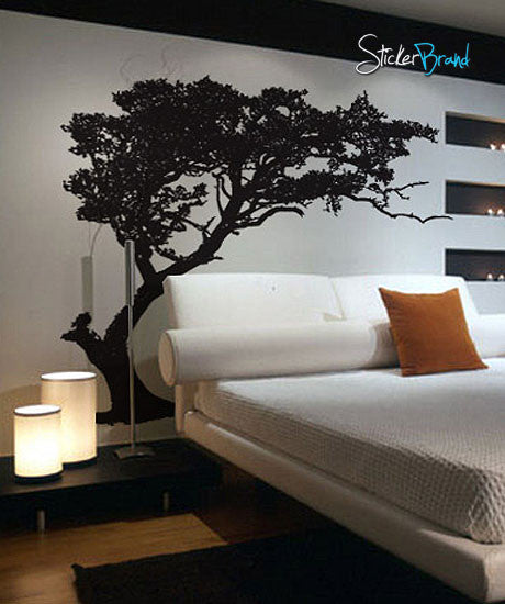 Beau Vinyl Wall Decal Sticker TREE Shade #312