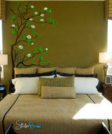 Vinyl Wall Decal Sticker Tree w/ Blossom Leaves #318
