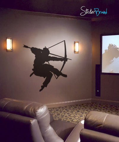 Vinyl Wall Decal Sticker Japanese Bushido Samurai #321