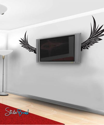 Vinyl Wall Decal Sticker ANGEL WINGS #324