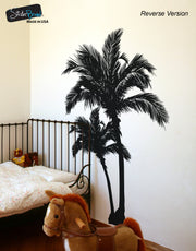 Beach Palm Trees Vinyl Wall Decal Sticker #327