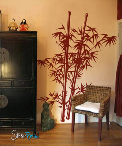 Vinyl Wall Decal Sticker Chinese Asian Bamboo #332