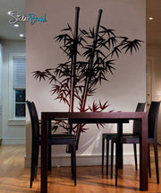 Chinese Bamboo Wall Decal Tree. #332