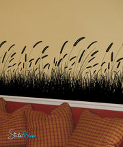 Vinyl Wall Decal Sticker GRAIN FIELD Grass #333