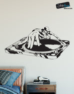 Vinyl Wall Decal Sticker DJ Turntable Urban Music #335
