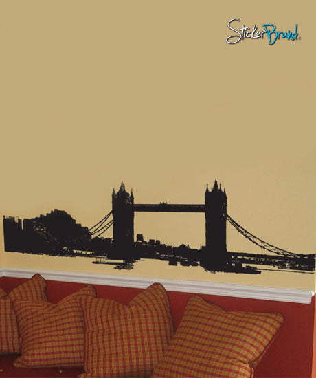 Vinyl Wall Decal Sticker London Tower Bridge LARGE #345