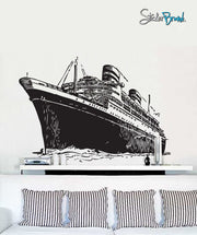 Vinyl Wall Decal Sticker Titanic Cruise Ship Large #351