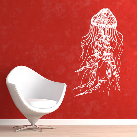 JellyFish Wall Decal Decor. Deep Sea Ocean Theme Decor. #364
