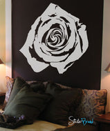 Vinyl Wall Decal Sticker Rose Flower Floral #365