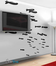 Vinyl Wall Decal Sticker Bombs Away #368