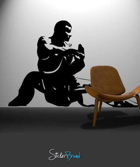 Vinyl Wall Decal Sticker Kung Fu Master Martial Arts #370