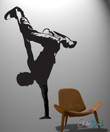 Vinyl Wall Decal Sticker Hip Hop Dance Urban Dancer #375