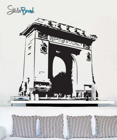 Vinyl Wall Decal Sticker Arc de Triomphe France #377