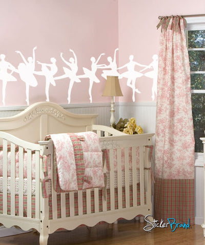 Vinyl Wall Decal Sticker Ballerina Dancers Ballet #378