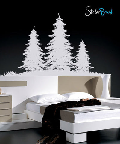 Vinyl Wall Decal Sticker Winter Wondland Treeser #395