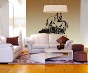 Vinyl Wall Decal Sticker Horse and Pony #OS_DC159