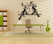Tropical Birds Vinyl Wall Decal Sticker.  #OS_DC283