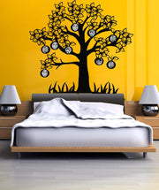 Vinyl Wall Decal Sticker Family Tree Picture Frame #OS_DC178