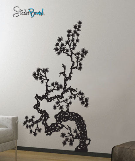 Vinyl Wall Decal Sticker Japanese Asian Flower - Vinyl wall decals asian