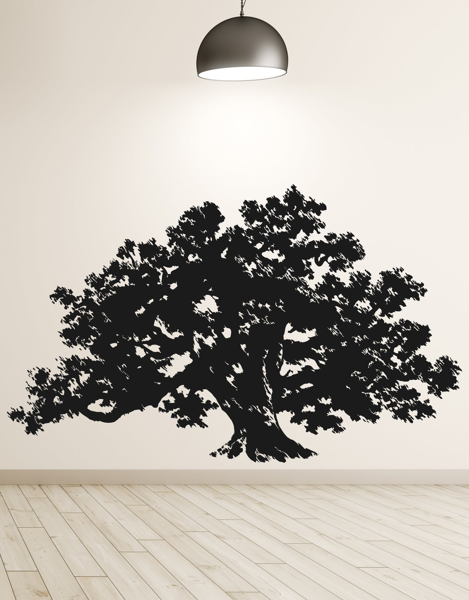 Big Oak Tree Vinyl Wall Decal Sticker. #410