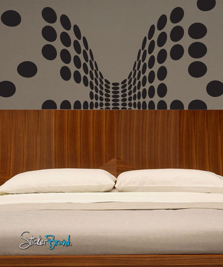 Vinyl Wall Decal Sticker Modern Dots Pattern #413