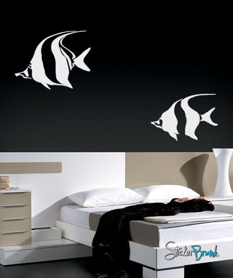 Vinyl Wall Decal Sticker Tropical Fishes #418