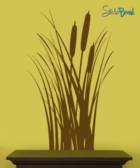 Vinyl Wall Decal Sticker Wheat Grass Fields #426
