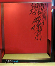 Vinyl Wall Decal Sticker Hanging Bamboo Leaves #427