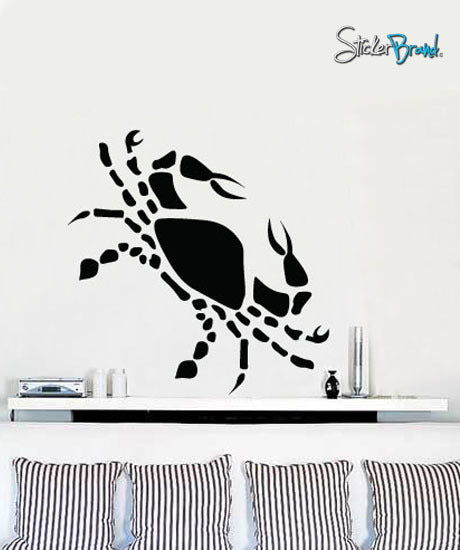 Vinyl Wall Decal Sticker Cancer Zodiac Sign #432