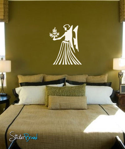 Vinyl Wall Decal Sticker Virgo Zodiac Sign #434