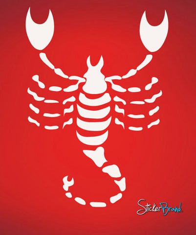 Vinyl Wall Decal Sticker Scorpio Zodiac Sign #436