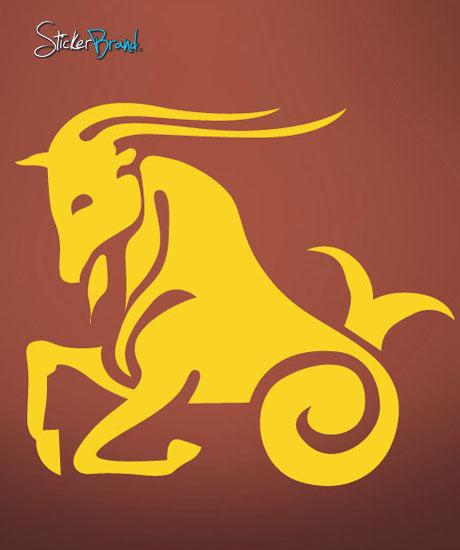 Vinyl Wall Decal Sticker Capricorn Zodiac Sign #438